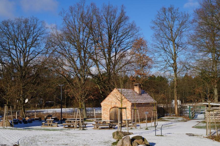 Winter auf dem Forsthof