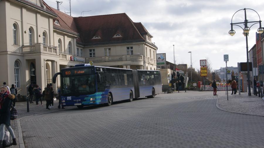 Bahnhofsvorplatz Oranienburg