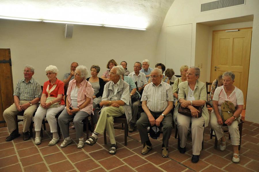 Einführungsvortrag zur Klosterbesichtigung