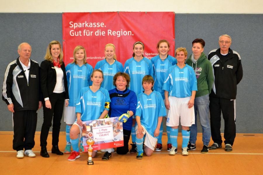 Sparkassen-Hallen-Cup 2014/15 der Frauen