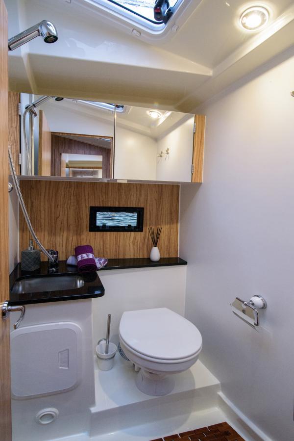 Futura 36 WC mit Dusche