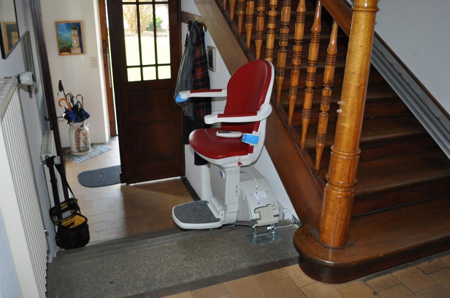 Sitzlift, gerade Ausführung, Innenanlage