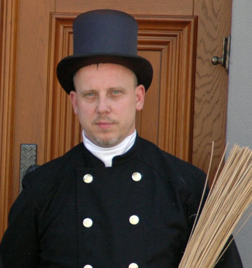 Schornsteinfegermeister Harald Heise