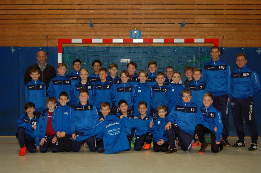 Mannschaftsfoto 1. E-Jugend