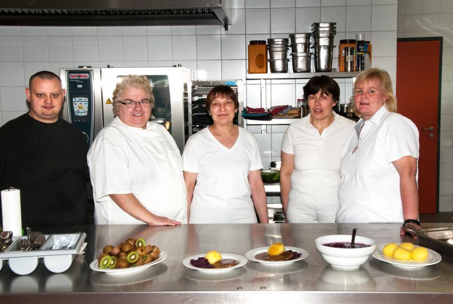 Küchenteam 2017