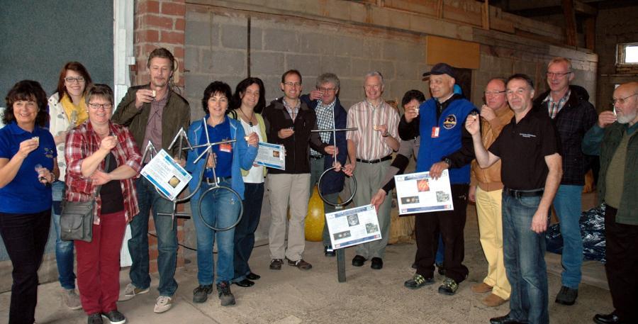 Vorstellung Projekt Planetenlehrpfad bei LIMESLIVE 2014