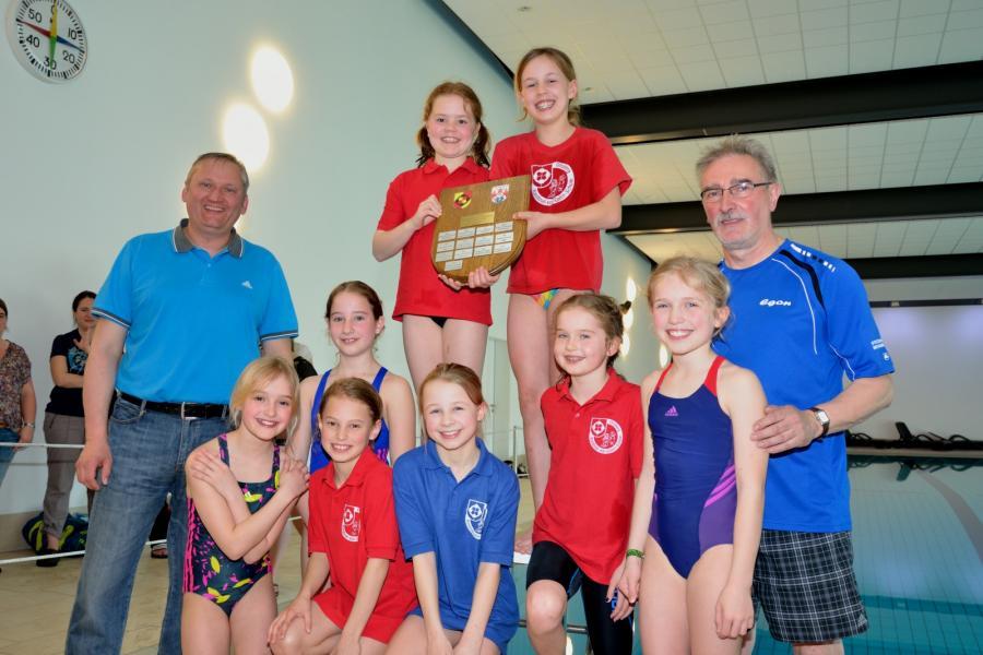 Schwimmwettkampf 2017 - Mädchen der KvG