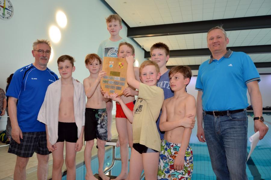Schwimmwettkampf 2017 Jungen Hallenberg