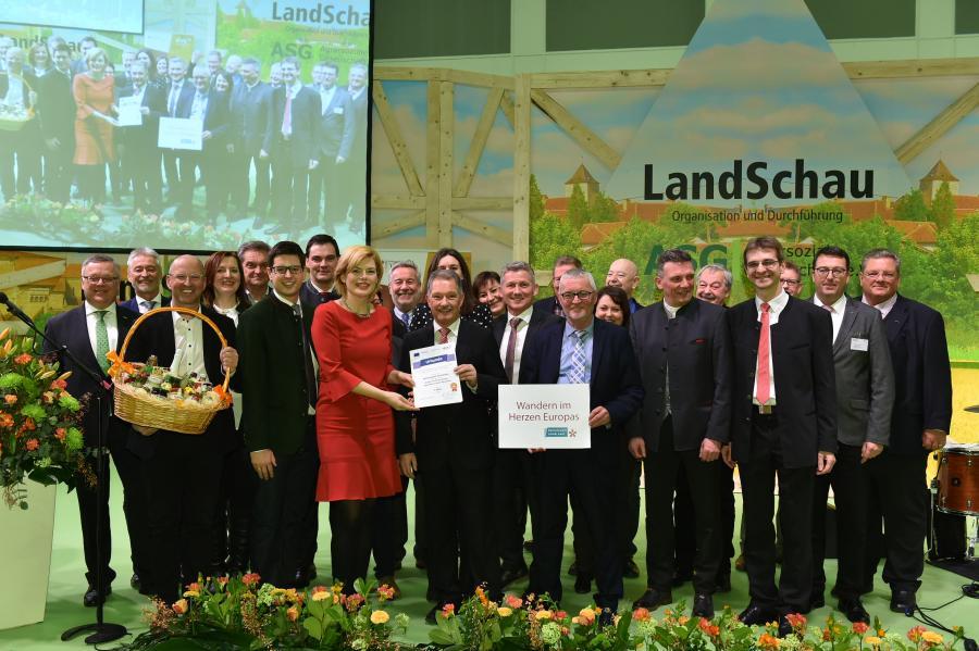 ILE Nationalparkgemeinden gewinnt Bundespreis; Quelle: BMEL/Ingo Heine