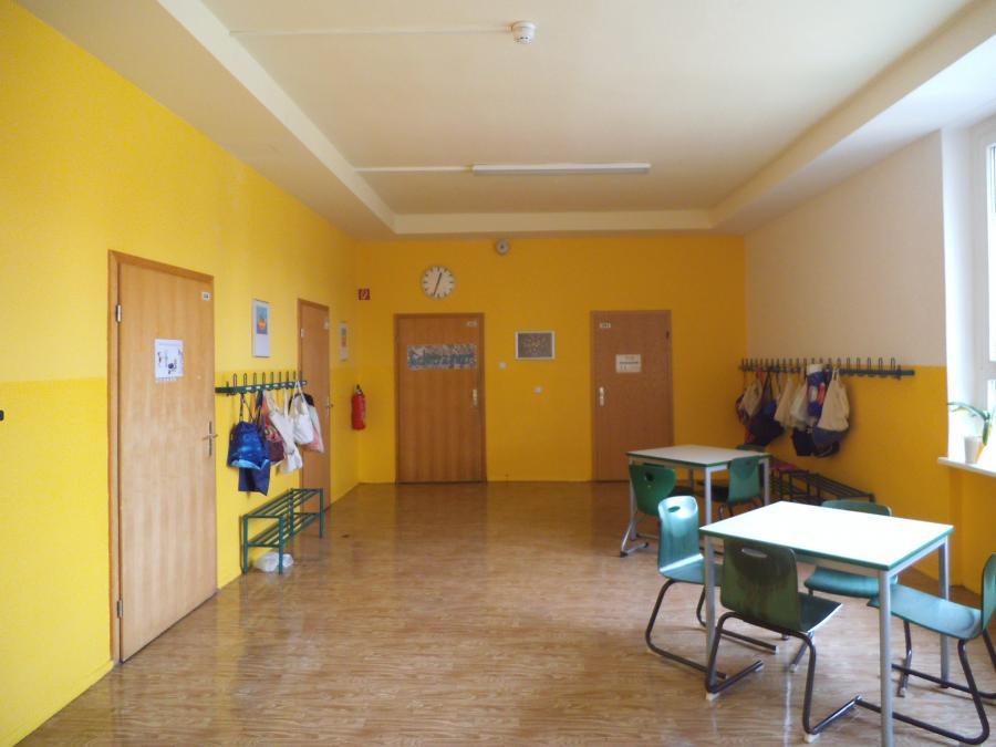 Gang zum Lehrerzimmer