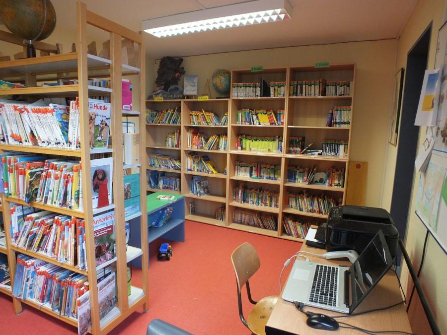 Blick in die Bücherei