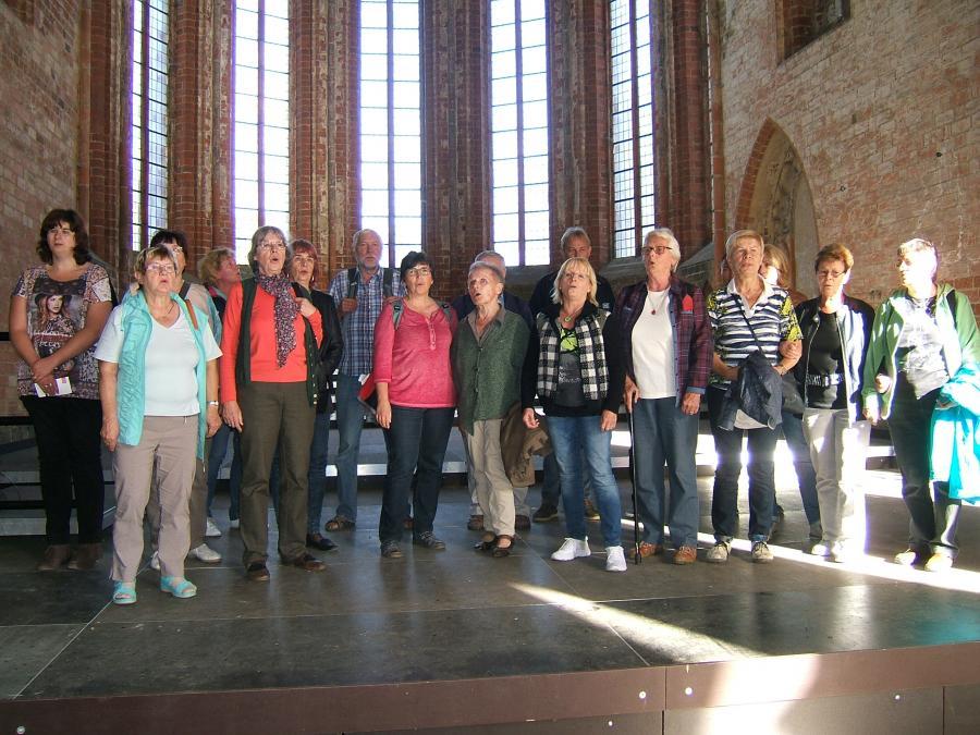 Singen im Kloster