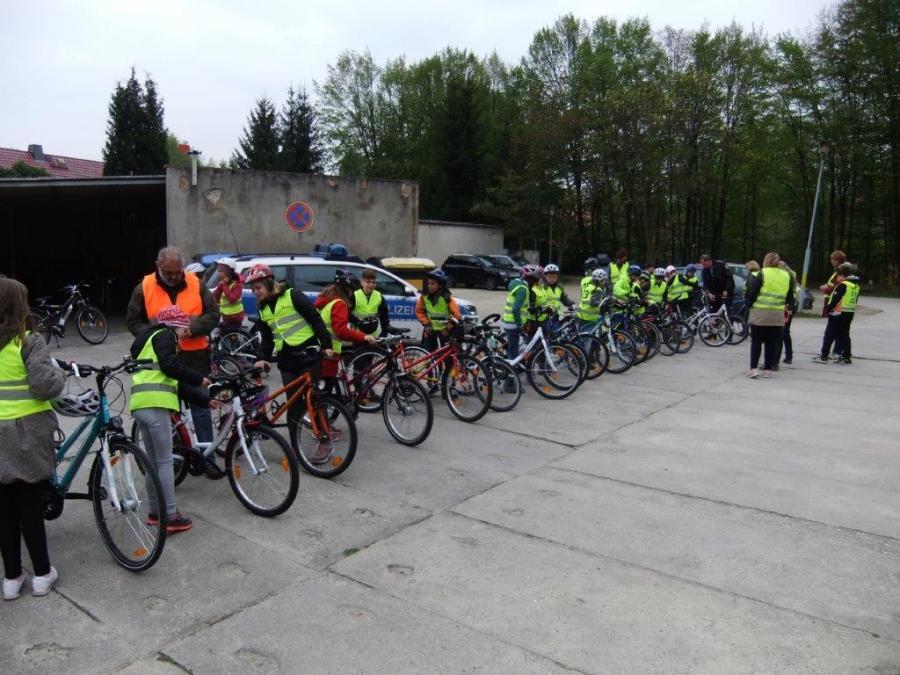 Fahrradprüfungen Klasse 4