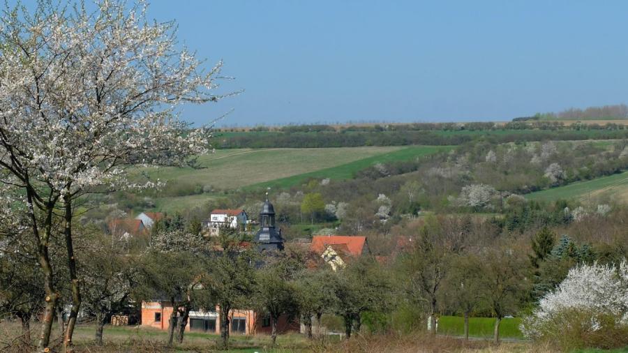 Blick auf Bruchstedt