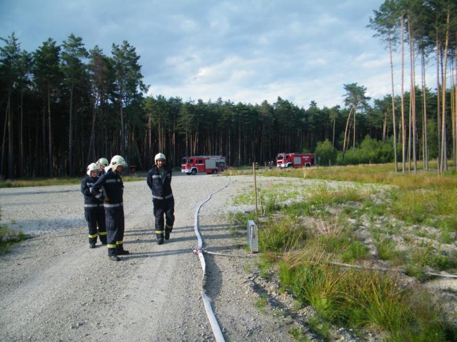 Waldbrandausbildung
