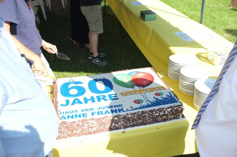 60 Jahre Kuchen