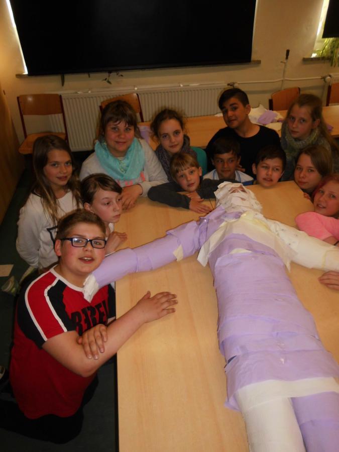 "Projekt ""Altes Ägypten"" 5. Klassen"