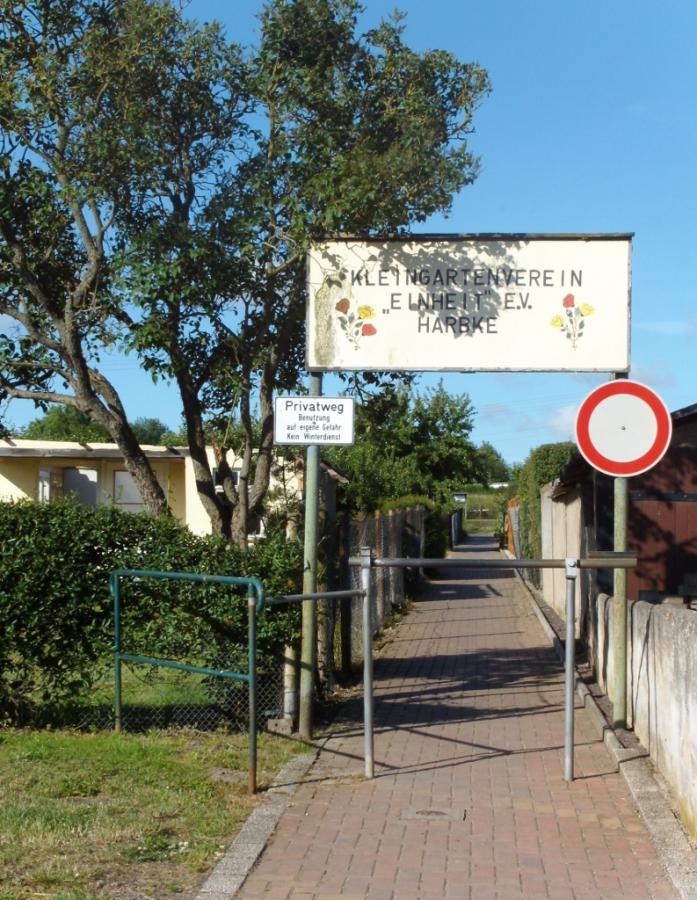 Eingang Kleingartenverein