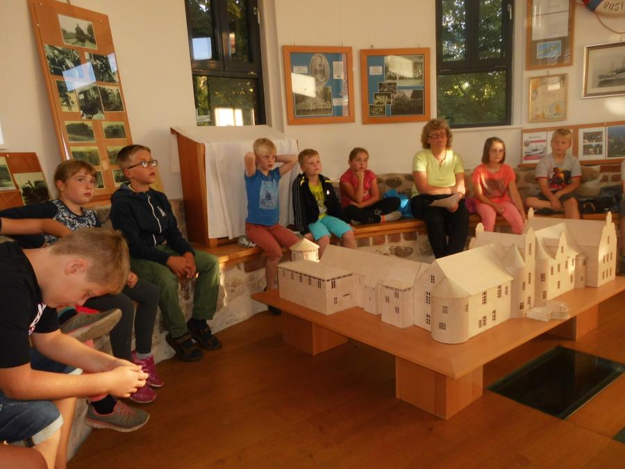 Lesung im Schloss Meyenburg