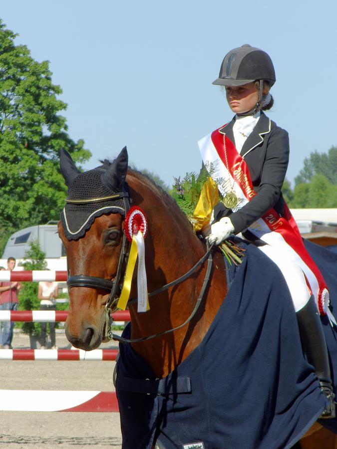 Lily Bendig Landesmeisterschaften Neustadt/Dosse  2013