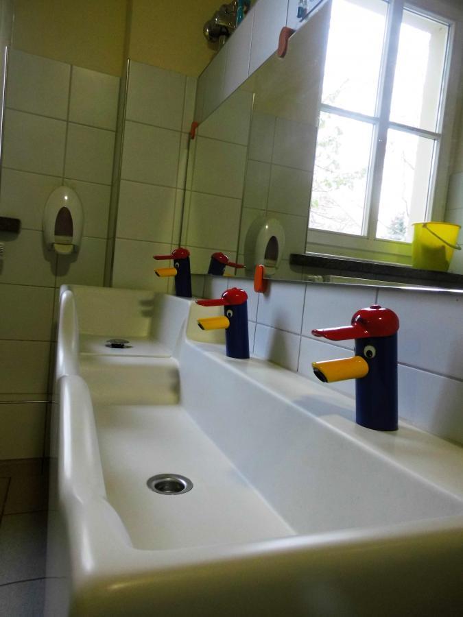 Sanitäranlage Beispiel Kindergarten