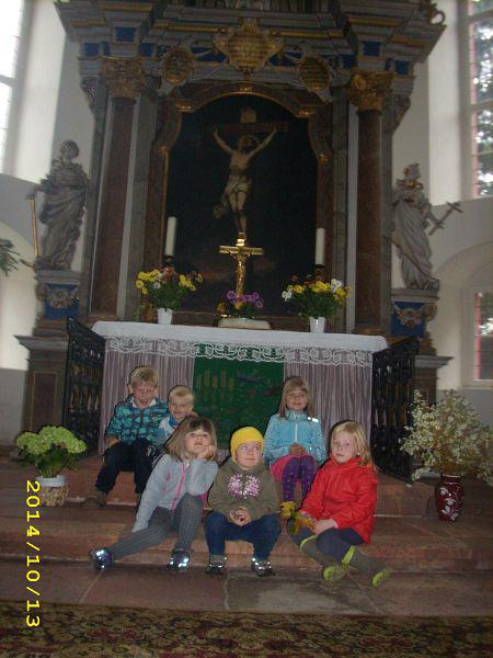 Re(h)-Kids in der St. Otto Kirche 1
