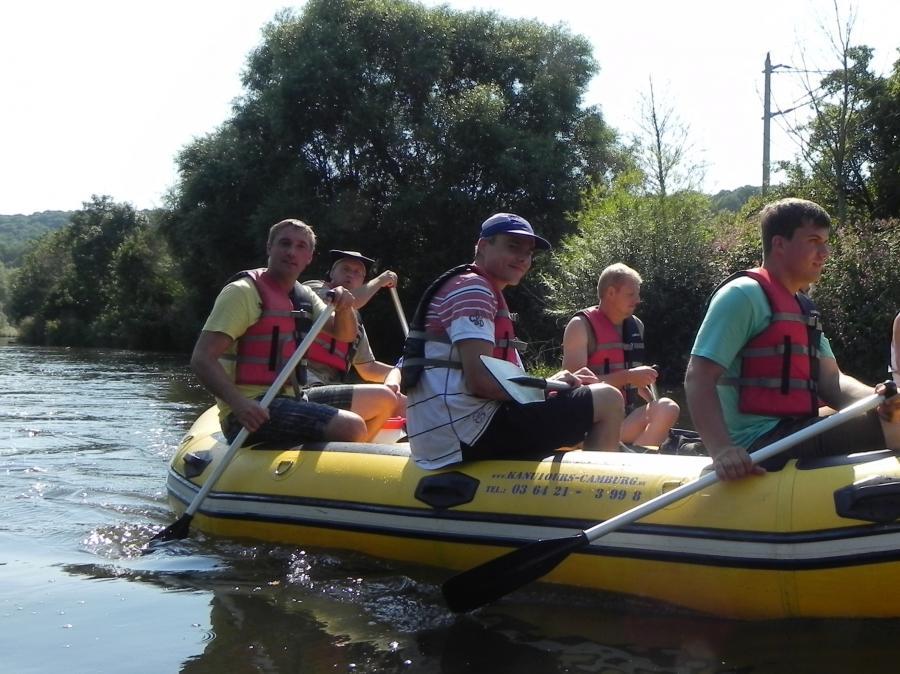 Betriebsausflug 2012 Boot