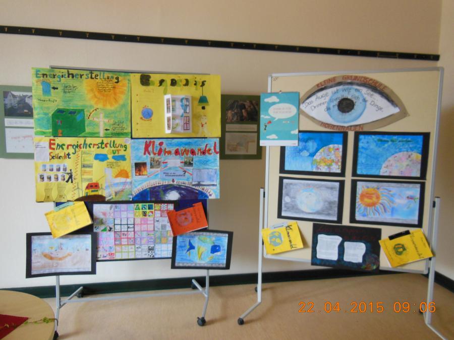 Präsentation Energiesparprojekte an Schulen im LK HVL