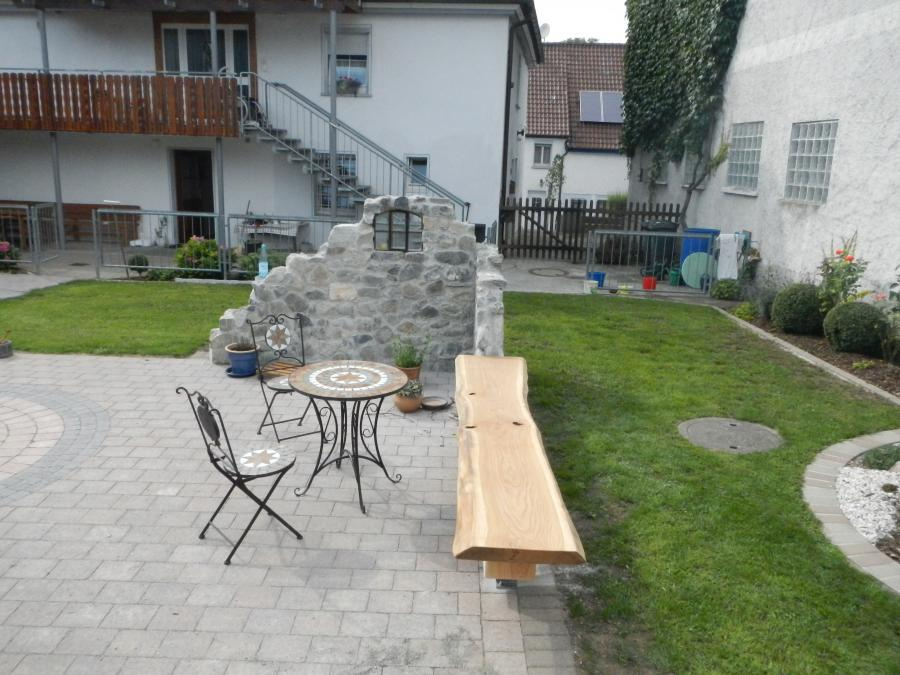 Holzbank - Marbach/Herbertingen