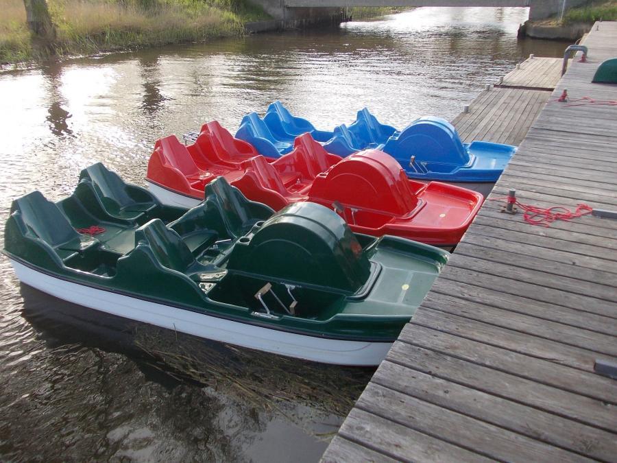 Recknitz Tretboot