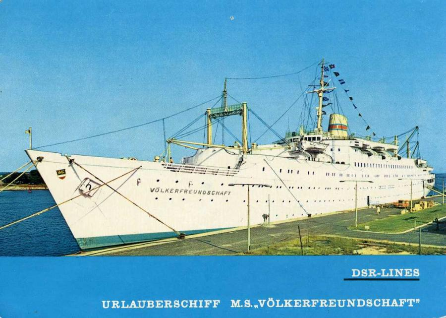 DSR-Lines Urlauberschiff 1967