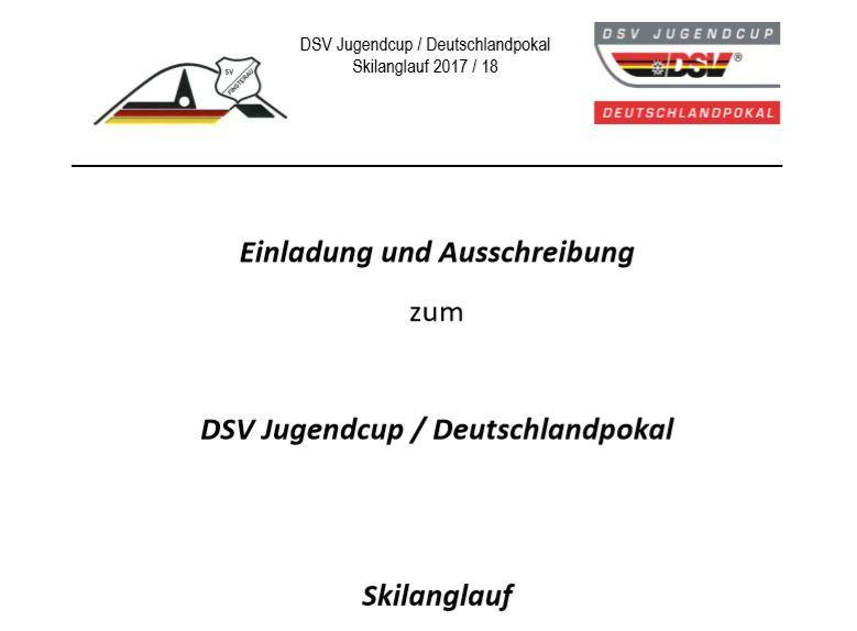 DSV Jugendcup Deutschlandpokal 2018