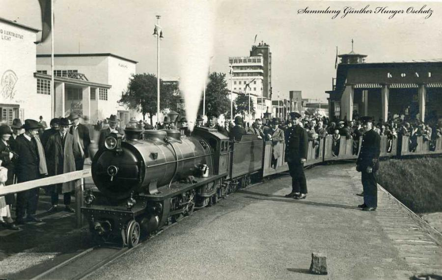 Düsseldorf-Große Ausstellung 1926   Liliputbahn