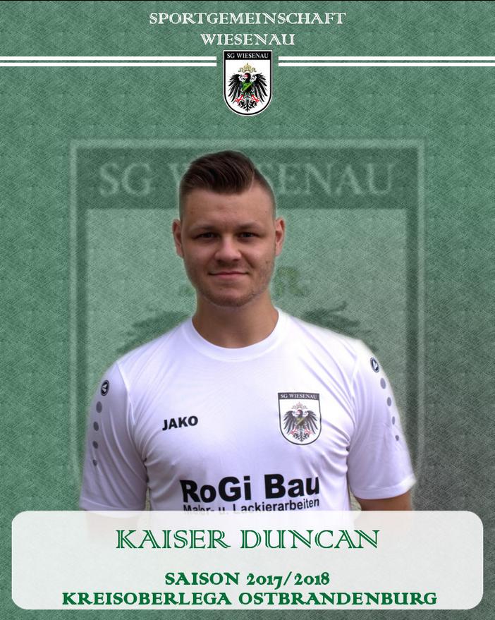 Duncan Kaiser