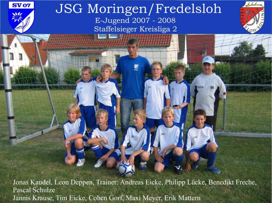 E-Jugend 2007 - 2008