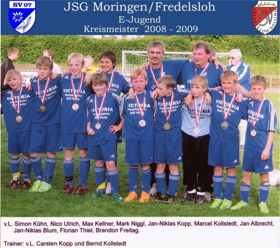 E-Jugend 2008 - 2009