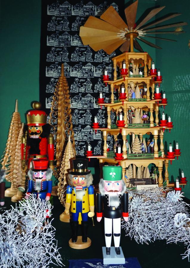 Plakat zur Weihnachtsausstellung