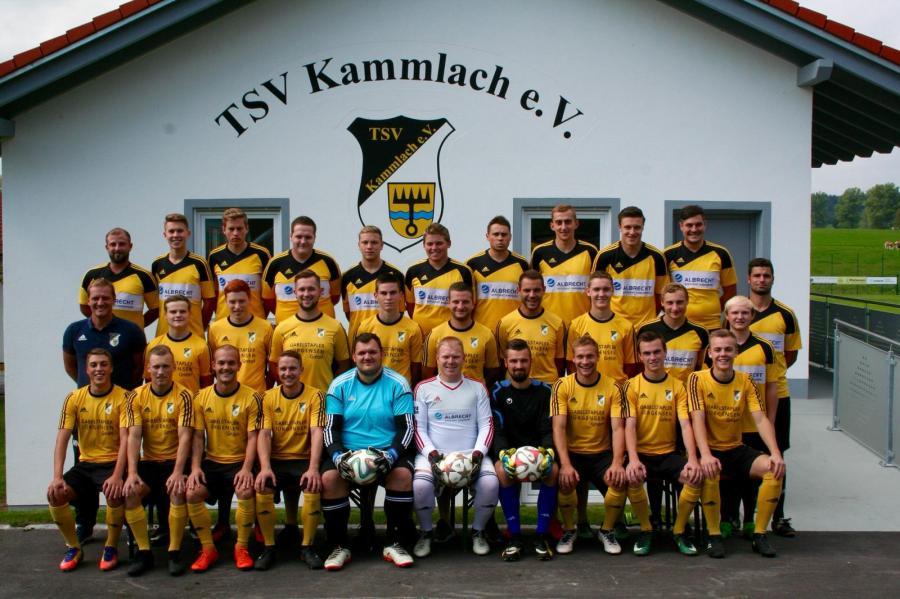 1. und 2. Herrenmannschaft des TSV Kammlach