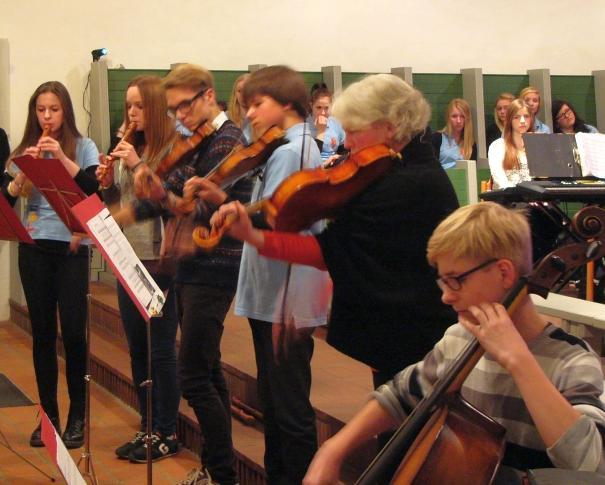 Kammermusikgruppe Lübz Foto: Melitta Flemming