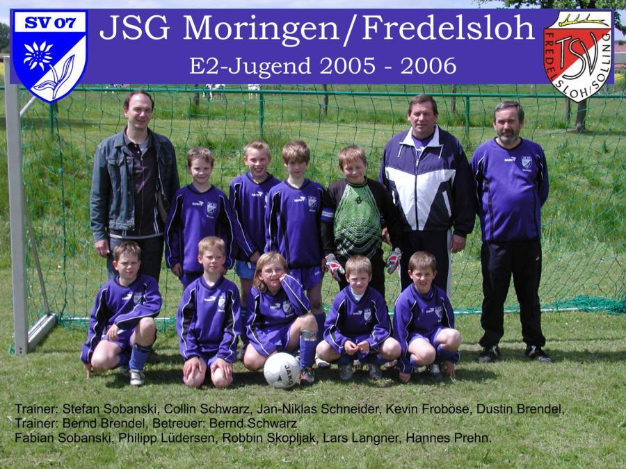 E2-Jugend 2005 - 2006