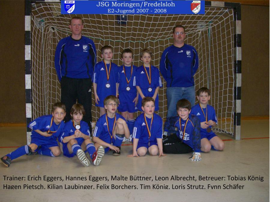 E2-Jugend 2007 - 2008