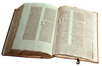 Bild: Original Gutenberg-Bibel
