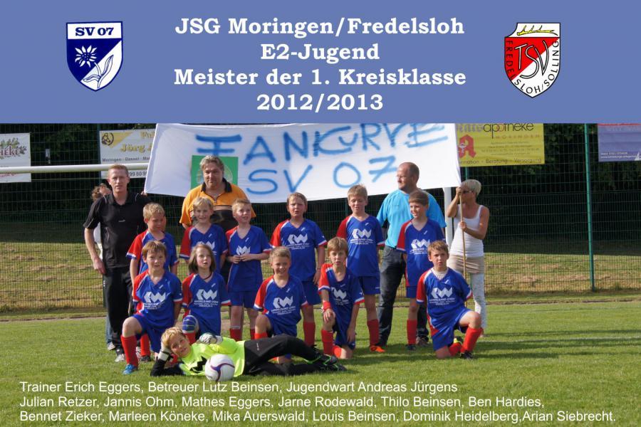 E2- Jugend 2012 - 2013