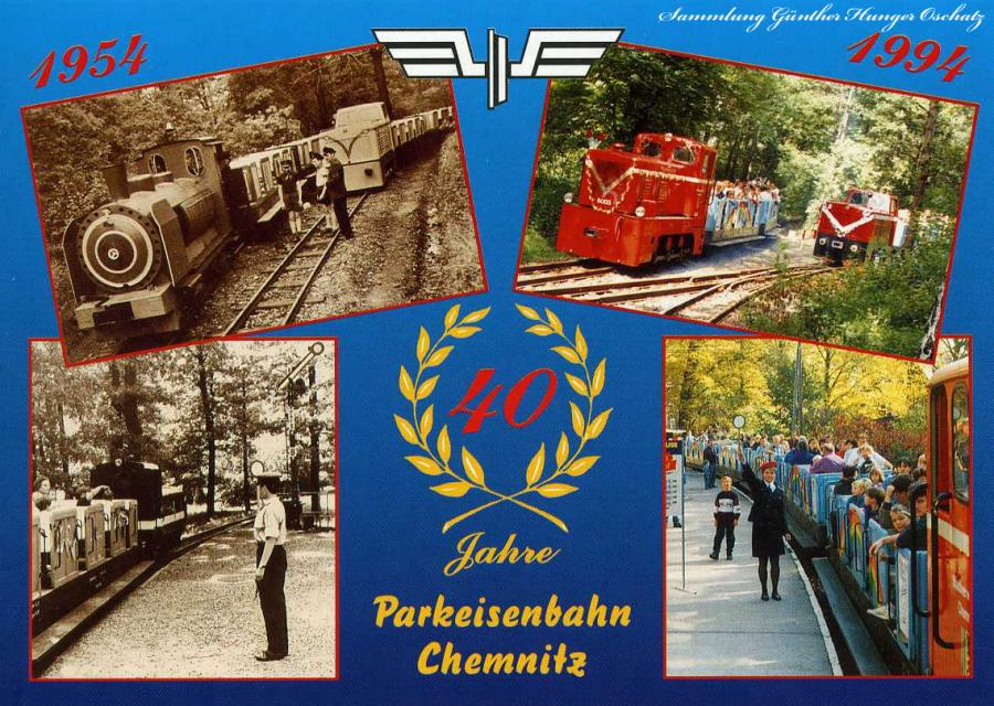 40 Jahre Parkeisenbahn Chemnitz
