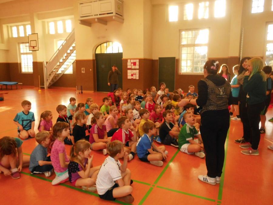 Sportfest Klasse 1 und 2