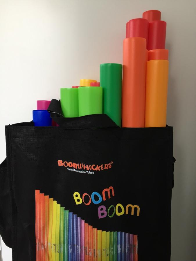 Boomwhacker für den Musikraum
