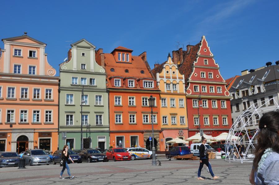 Marktplatz in Wrocław