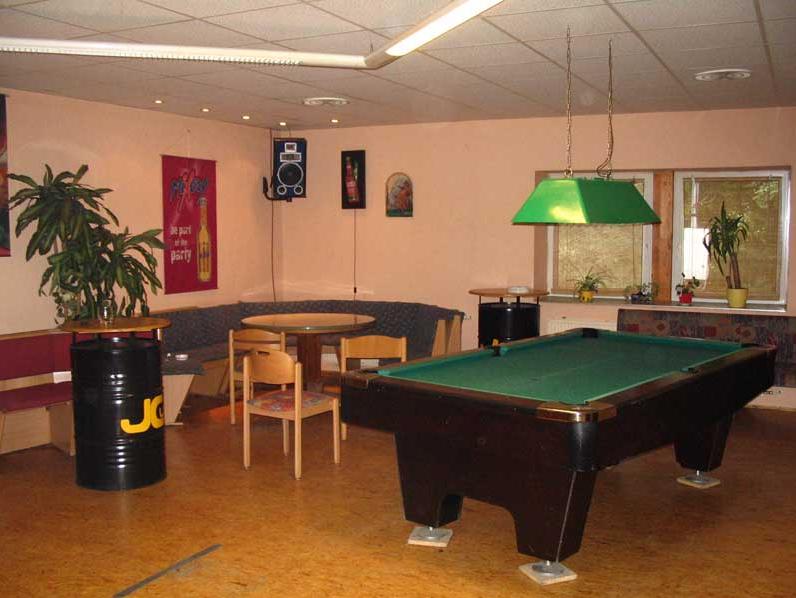Das Clubgebäude