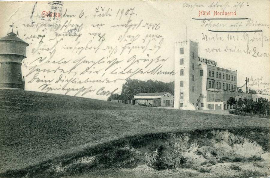 Göhren Hotel Nordpeerd 1907