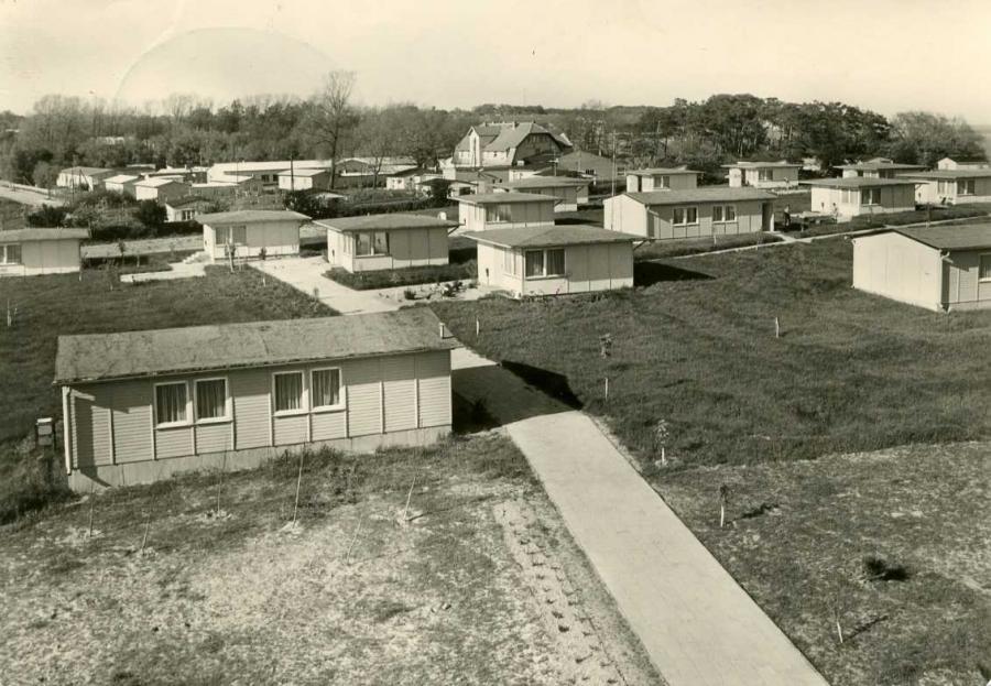 Lobbe Ferienheim Bugalowdorf 1978